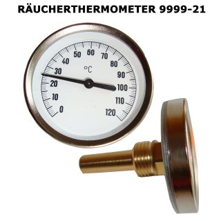 Räucherthermometer 80 mm | 120 Grad