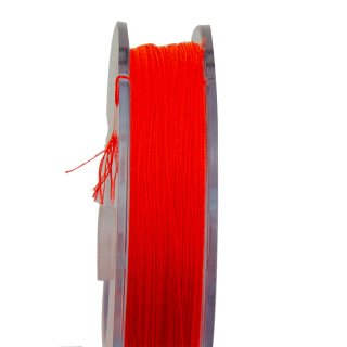 Fliegenschnur Backing 20 LBS | 300 Yards Fluo-Orange
