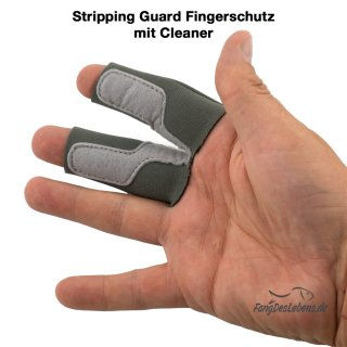 Stripping-Guard, Fingerschutz - grau