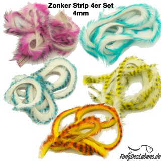 Zonker Strip UV, 4mm, 4er Set