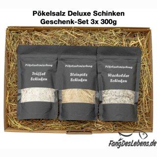 Pökelsalz Geschenkset Deluxe im Heubett